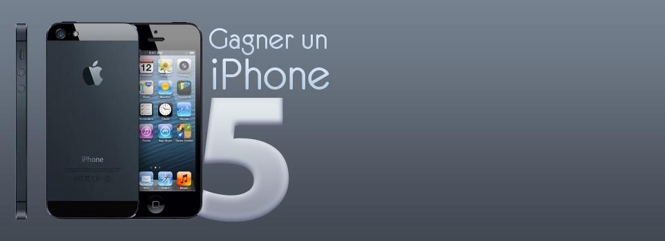 Gagner un iPhone 5